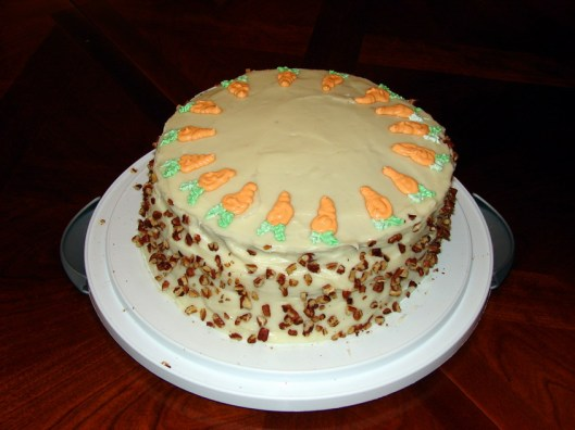 Amy's Fabulous Carrot Cake